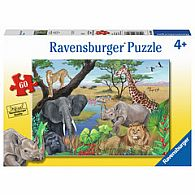 60 pc Safari Animals