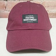 NW Vibes The Coast Dad Hat Maroon