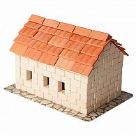 Brick Building Set - Tile Roof House