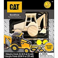 Caterpillar Backhoe Wood Set