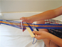 backstrap Loom With Accessories