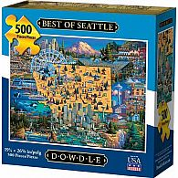 500 pc Best of Seattle