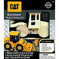 Caterpillar Bulldozer Wood Set