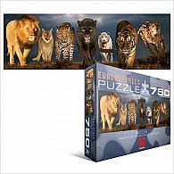 Big Cats Puzzle 750 Pieces