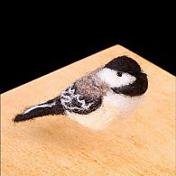 Chickadee Needle Felting Kit