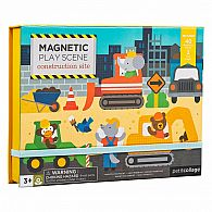 Magnetic Construction Scene