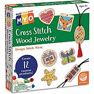 Cross Stitch Wood Jewerly