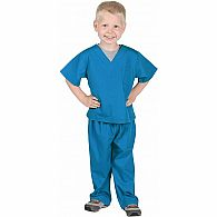Jr. Doctor Scrubs, Astor Blue, size 4/6