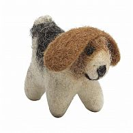 Wool Felt Mini Dog