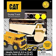 Caterpillar Dump Truck Wood Set