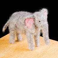 Needle Felting Kit Elephant