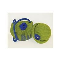 Felted Purse and Hat Kit