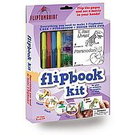 Flipbook Kit, T-Rex&Pteranodon