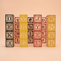 Alphabet Blocks German