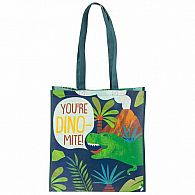 Large Recycled Gift Bag Dino