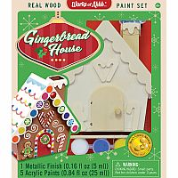 Gingerbread House Wood DIY