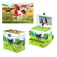Graceful Gallop Music Box