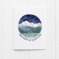 Yardia Mountains of Gratitude Card