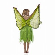 Green Glitter Fairy Wings