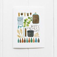 Yardia Hoppy Fathers Day Card