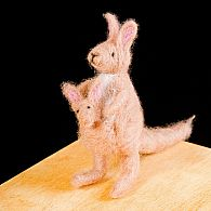 Needle Felting Kit Kangaroo