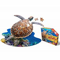 100 pc Shaped Puzzle I Am Lil Sea Turtle