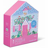 24 pc Two Sided Puzzle Little House