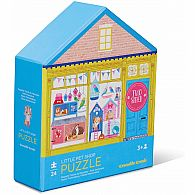 24 pc Two Sided Puzzle Pet Shop