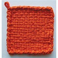 Cotton Potholder Loops Orage