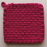 Cotton Potholder Loops Pink