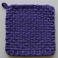 Cotton Potholder Loops Purple