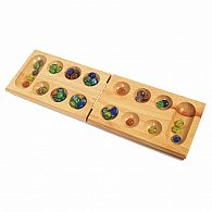 Solid Wood Mancala