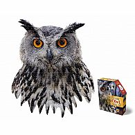 550 pc Shaped Puzzle I Am Owl