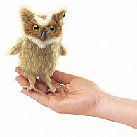 Finger Puppet Great Horned Owl