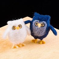 Needle Felting Kit Owls