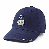 Life is Good Papa Bear Hat