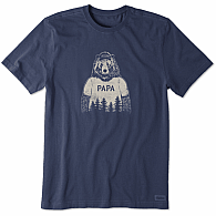 Life is Good Papa Bear Shirt S-XXXL