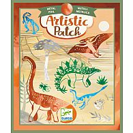 Artistic Patch Dinosaurs Metal