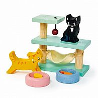 Dolls House Pet Cats Set
