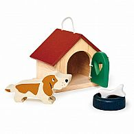 Dolls House Pet Dog Set