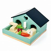 Dolls House Pet Rabbit Set