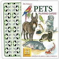 Pets Playing Cards