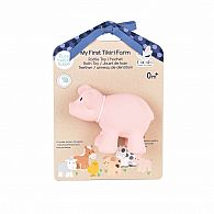 Pig Natural Rubber Rattle