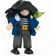 Budkin Jolly Pirate with Parrot