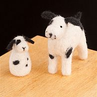 Puppies Needle Felting Kit