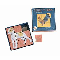 Puzzle Cube Farm Animals