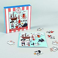 25 pc Magnetic Jigsaw Pirate