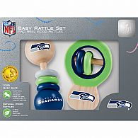 Seattle Seahawks Rattle Set