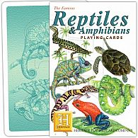 Reptiles and Amphibians Playing Cards