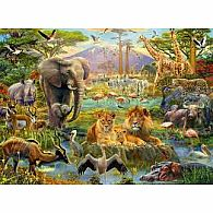 200 pc Animals of the Savannah